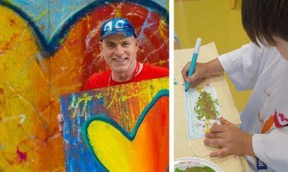 Mascherine come opere d'arte realizzate dagli ospiti del Centro Autismo