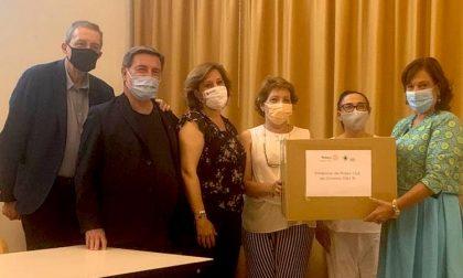 Il Rotary Club Assago Milanofiori dona 600 mascherine ai medici di famiglia