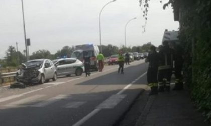 Incidente a Gaggiano: sul posto ambulanze, elisoccorso e Vigili del fuoco