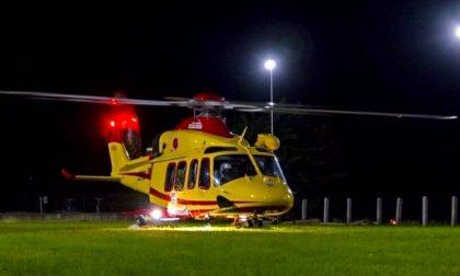 Incidente nella notte a Sedriano: 6 ambulanze e elisoccorso sul posto