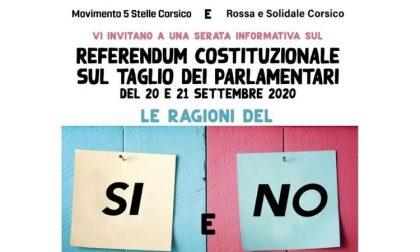 A Corsico, evento informativo sul referendum costituzionale del 20-21 settembre