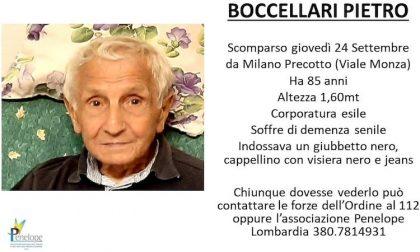 Ritrovato Pietro Boccellari, era scomparso da casa