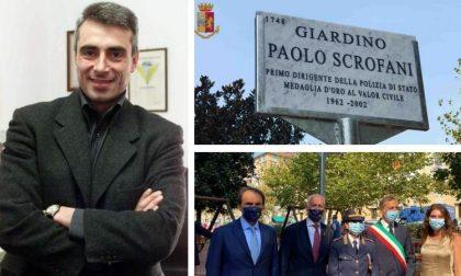 I giardini di viale Cermenate intitolati a Paolo Scrofani a 18 anni dalla morte FOTO