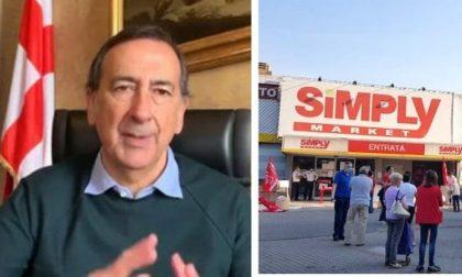 """Chiusure Simply, Beppe Sala: """"Subito un incontro per tutelare dipendenti e quartiere"""""""