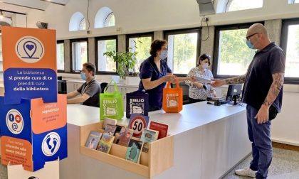 La biblioteca riapre in sicurezza e con un nuovo stile