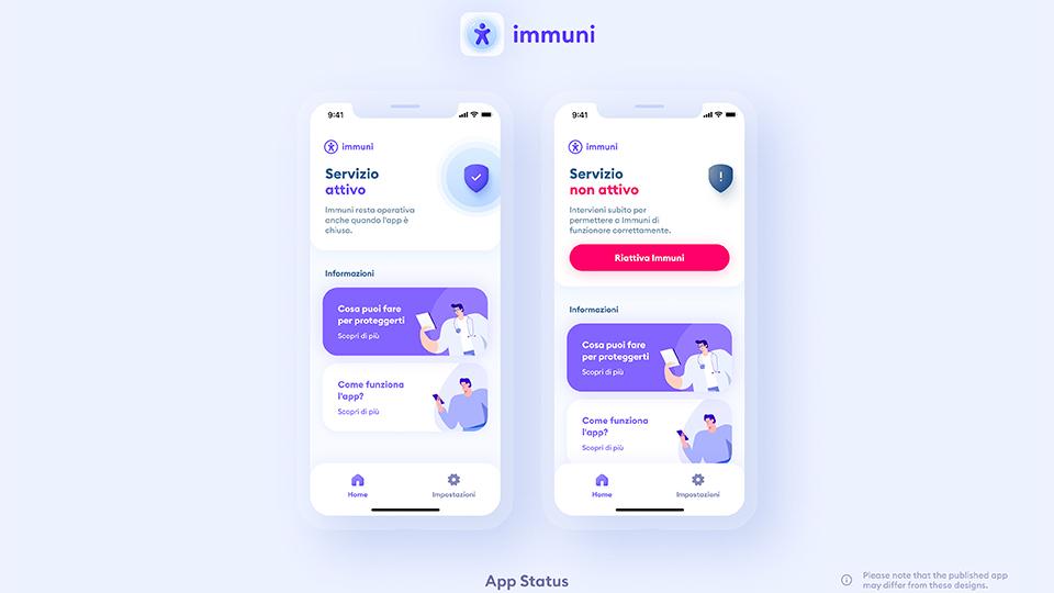 Crisanti app Immuni