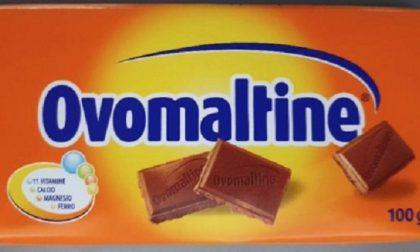 Ritirate dal mercato tavolette di cioccolato Ovomaltine. Contengono pezzi di plastica