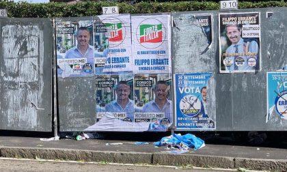 """Manifesti coperti, Mei: """"Non un attacco a Errante, ma a me e a Forza Italia"""""""