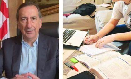 """Il sindaco di Milano Beppe Sala: """"Ordinanza firmata di fretta, ci è sfuggita la didattica a distanza. Ripensiamoci"""""""