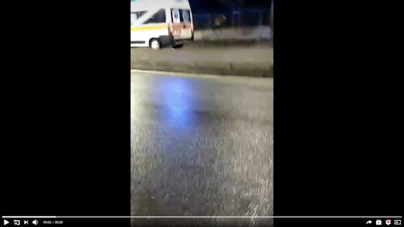 Video negazionista Ambulanze
