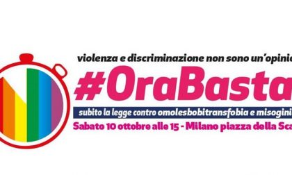 OraBasta! sul palco e in piazza per una legge contro l'omofobia