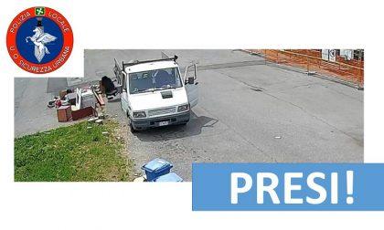 Scaricatore di rifiuti seriale: beccato l'incivile che inquinava la città