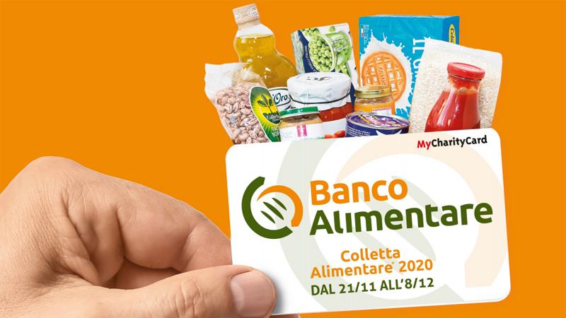 Colletta alimentare spesa card