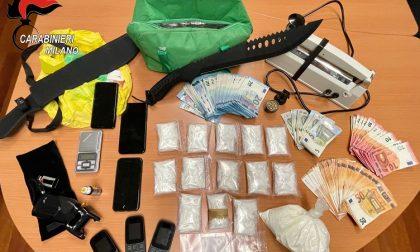 Beccati con 847 dosi di cocaina: arrestati due giovani