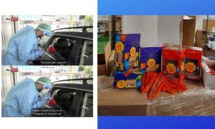 Bambini impauriti dal tampone, l'Asst regala dolci e caramelle per tranquillizzarli