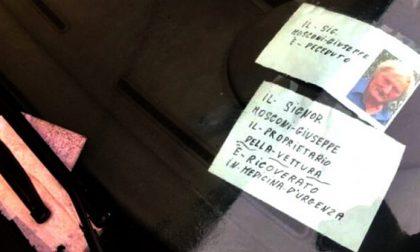 68enne muore  per Covid ma sulla sua auto fuori dall'ospedale si accumulano le multe