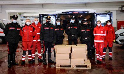 Raccolta fondi dei carabinieri per la Croce Rossa: 3mila pannolini per famiglie bisognose