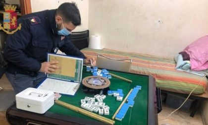 Bisca clandestina in casa, denunciate 12 persone che giocavano a Mah-Jong