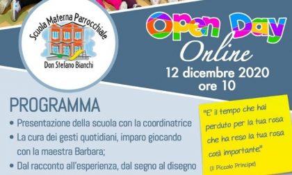 Open Day online per La Scuola Materna Parrocchiale Don Stefano Bianchi