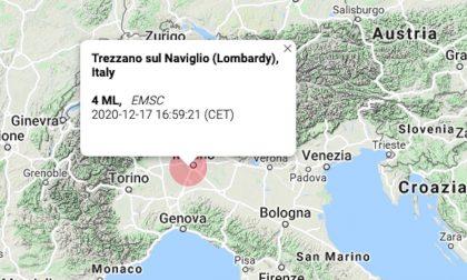 Scossa di terremoto avvertita a Milano: epicentro tra Corsico, Cesano e Trezzano