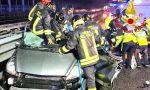 Gravissimo incidente sulla Tangenziale: morta donna (la madre), la figlia e il padre FOTO