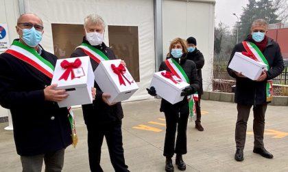 Gli auguri dei bambini arrivano a sanitari e pazienti di Humanitas
