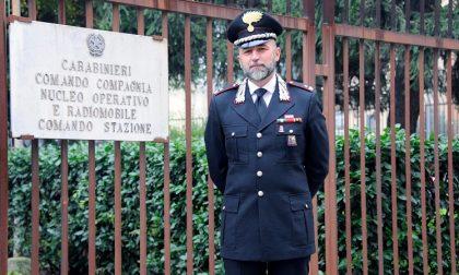 Il maggiore Domenico La Padula al comando della Compagnia dei carabinieri di Corsico