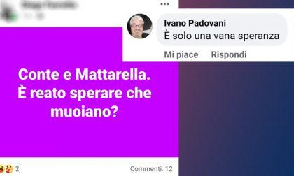 """Il consigliere comunale: """"Morte di Mattarella e Conte? Una vana speranza"""""""