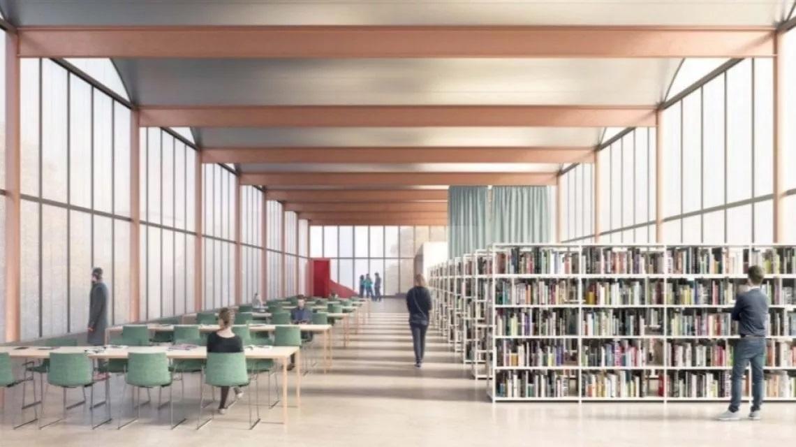 maxi biblioteca Lorenteggio