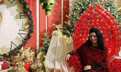 Laboratori creativi e arte del riciclo nella Casa di Babbo Natale  FOTO
