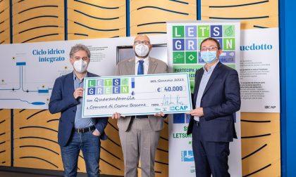 Cesano è il Comune più green e vince 40mila euro nel concorso Cap