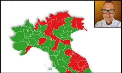 E se le zone fossero provinciali   Milano non sarebbe zona rossa, anzi
