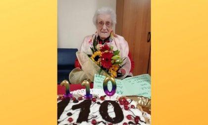 Buon compleanno alla signora Ilde che spegne 110 candeline