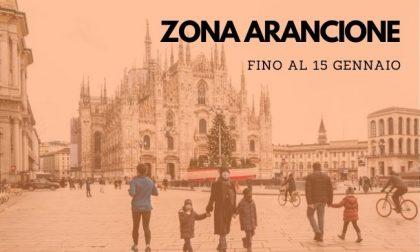 Lombardia in zona arancione da domani e fino al 15 gennaio