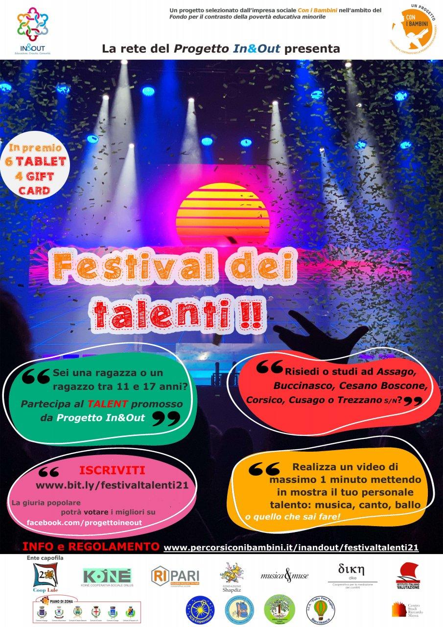 Talenti giovanili contest In&Out