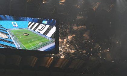 Fuochi d'artificio prima di Inter-Juve: denunciati due ultras nerazzurri