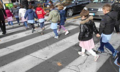 Protegge i bambini che attraversano sulle strisce: agente investito