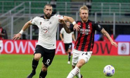 Spezia-Milan ed Inter-Lazio