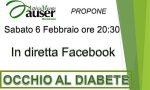 Rischio diabete, incontro online con Auser Attivamente