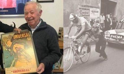 Addio a Mario Milesi, il signore della bicicletta a Corsico