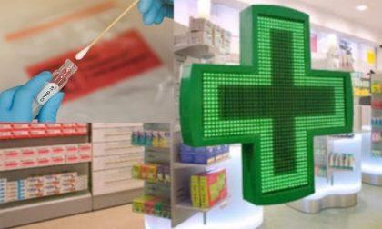 Tamponi in farmacia: raggiunto l'accordo con Regione Lombardia