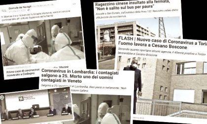 Un anno fa il Covid arrivava nel sud Milano, il nostro racconto