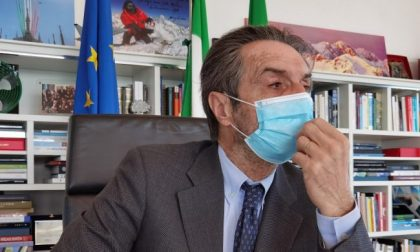 "Fontana: ""Da lunedì la Lombardia torna in zona arancione"""