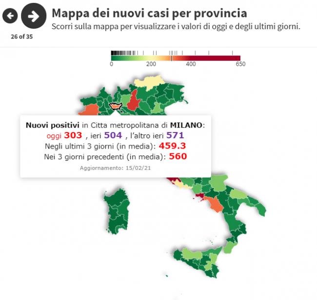 zone rosse provinciali Milano