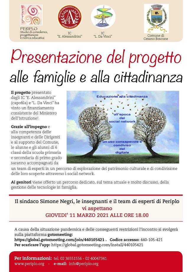 Uso social progetto scuole Cesano