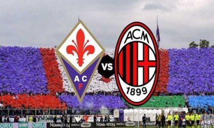 Fiorentina-Milan: i rossoneri per il riscatto