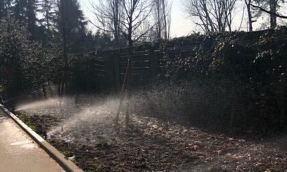 A Basiglio un nuovo impianto di irrigazione con acque reflue