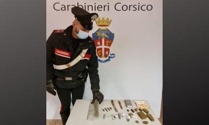 Droga e proiettili in casa: arrestato 27enne a Corsico