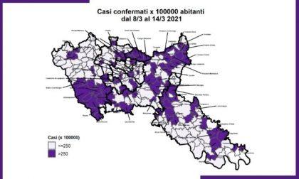 Monitoraggio Covid di Ats Milano: aumentano i Comuni con alta incidenza