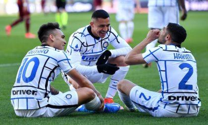 L'Inter scappa, il Milan frena